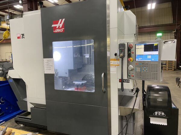 Haas UMC-750SS CNC 5-Axis Vertical Machining Center For Sale