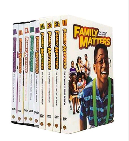 Family Matters The Complete Series (27-DVDs Seasons 1-9)