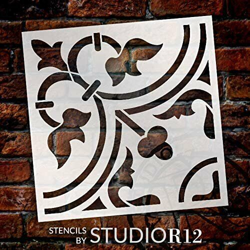 Moroccan Pattern Tile Stencil by StudioR12 DIY Furniture amp; Floor Painting $13.99