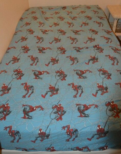 2000 Ultimate Jay Franco Marvel Spider Man 3pc. Twin Sheet Set + Throw Pillow