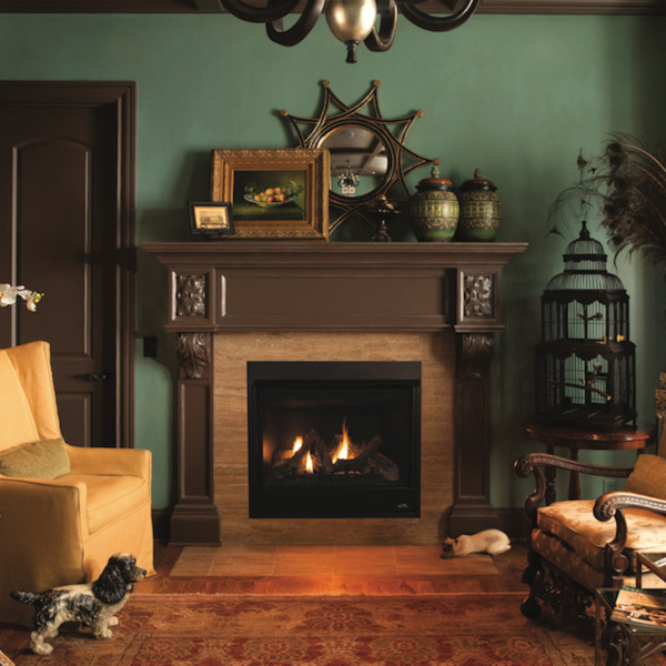 Superior DRT3540 Direct Vent Gas Fireplace with Electric Ignition