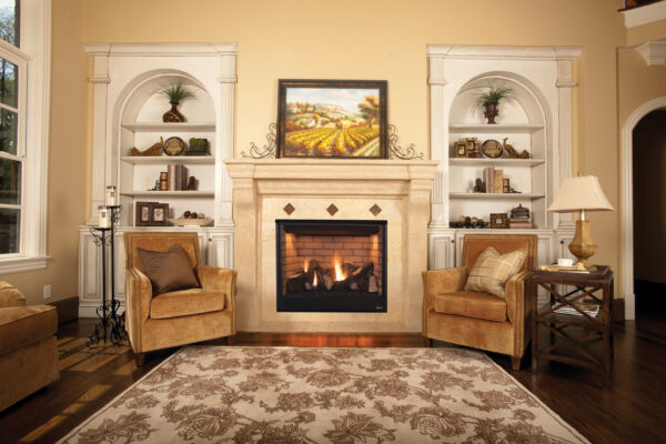 Superior DRT3545 Direct Vent Gas Fireplace with Electric Ignition