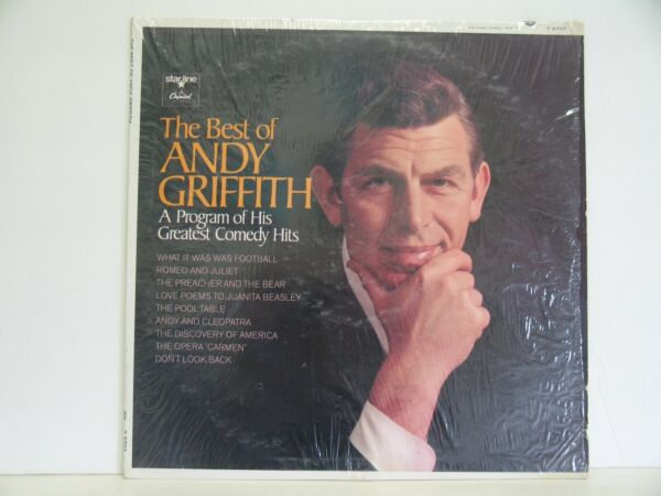 THE BEST OF ANDY GRIFFITH 33 RPM A PROGRAM OF HIS GREATEST COMEDY HITS VG++