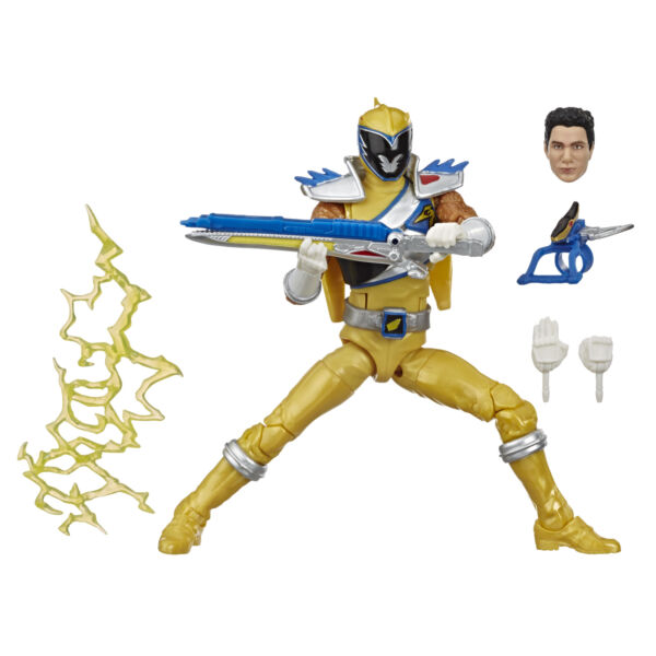 Power Rangers Lightning Collection 6 Inch Dino Charge Gold Ranger Collectible