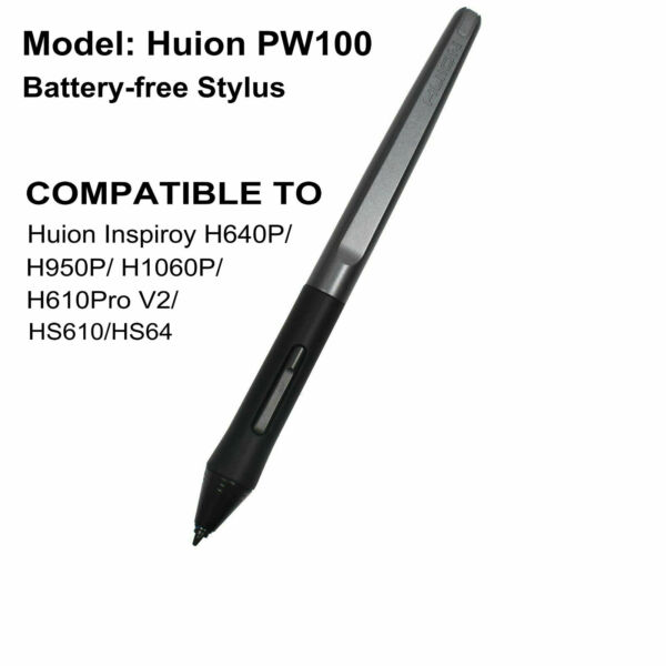 Original Huion PW100 Digital Pen Stylus for H640P H950P H1060P H610Pro 8192 8192
