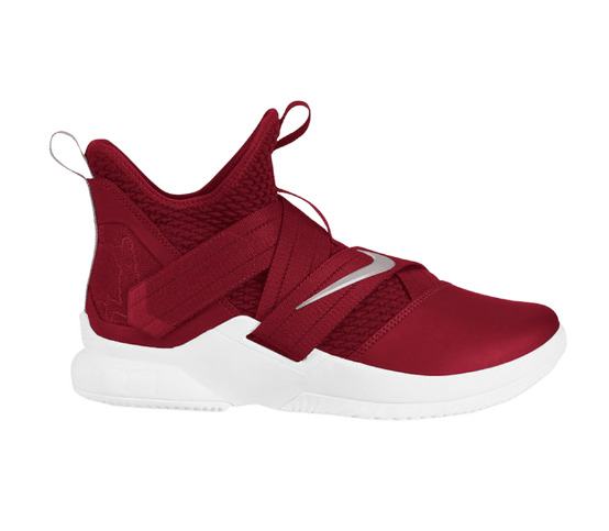 Lebron Soldier XII TB Basketball Sneakers Team Red