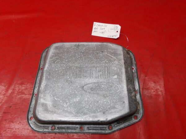 FORD AOD AUTO AUTOMATIC TRANSMISSION OVERDRIVE METRIC FLUID LOWER PAN OEM USED