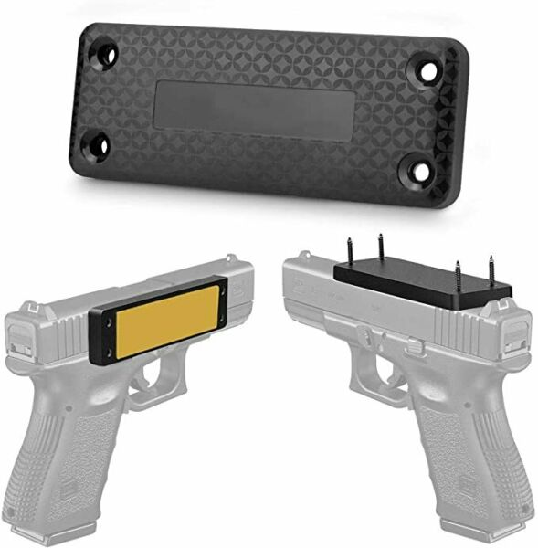 1 2 4 Pack Magnetic Gun Mount amp; Holster Rubber Coated Concealed Tactical Firearm $30.99