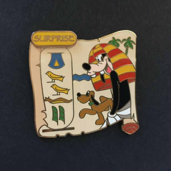WDW Surprise Pin Collection 2006 Cartouche Goofy LE 1000 Disney Pin 46946