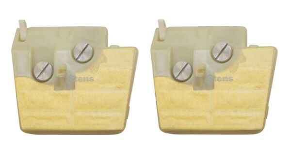 2 Pack Stens 605-385 Wide Air Filter For Stihl 1121-120-1618 024 026 MS240 MS260