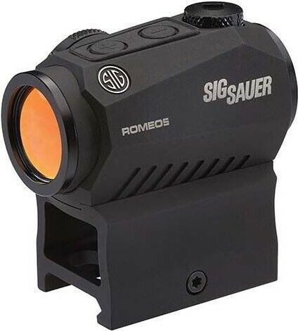 Sig Sauer SOR50000 Romeo5 1x20mm Compact 2 Moa Red Dot Sight Black