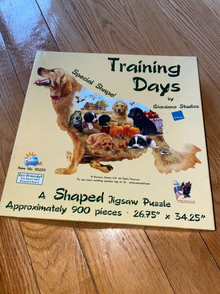 Dog Shaped Puzzle 900 Pieces $13.00