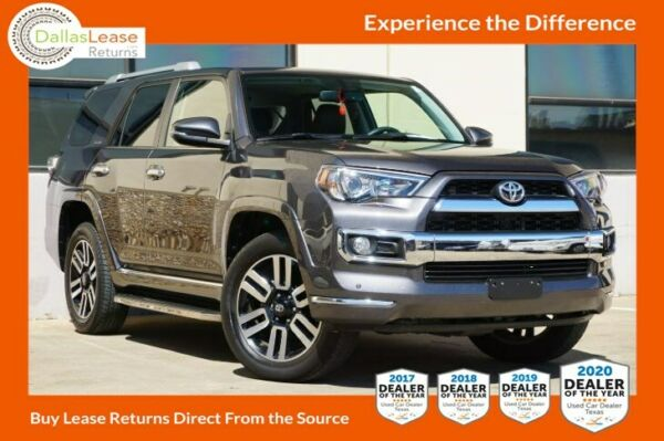 2018 Toyota 4Runner Limited 2017 DealerRater Texas Used Car Dealer of the Year! Come See Why!