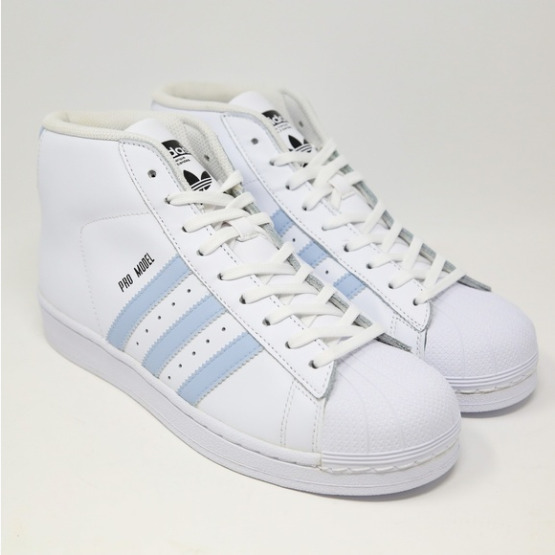 Adidas Pro Model Shell Toe Retro UNC Easy Blue White Carolina