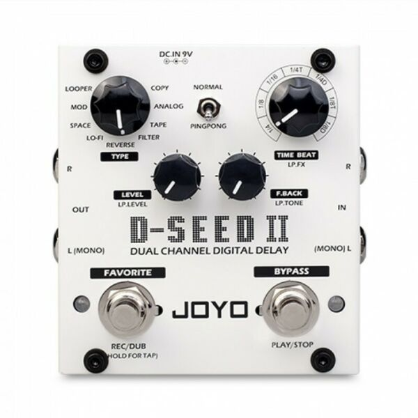 New JOYO D-SEED II Dual Mode Stereo Delay Guitar Effects Pedal FX Stompbox