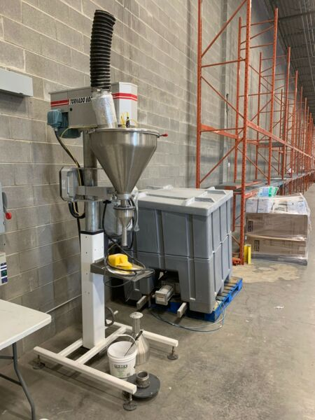 2013 artypac Fully Automated High Speed Auger Filler Tornado 600 With Hopper Bin