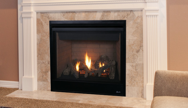 Superior DRT3045 Direct Vent Traditional Gas Fireplace w Millivolt System