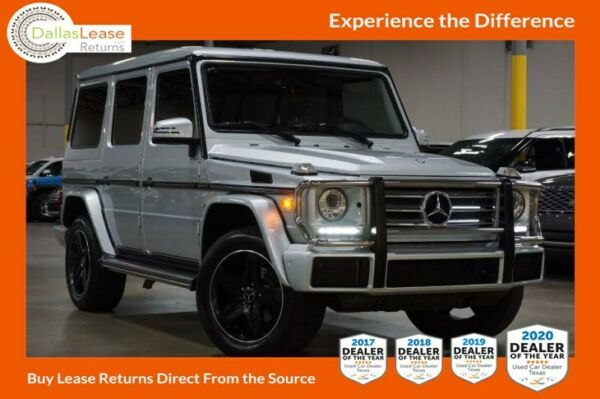 2017 Mercedes-Benz G-Class 4MATIC SUV 2017 DealerRater Texas Used Car Dealer of the Year! Come See Why!