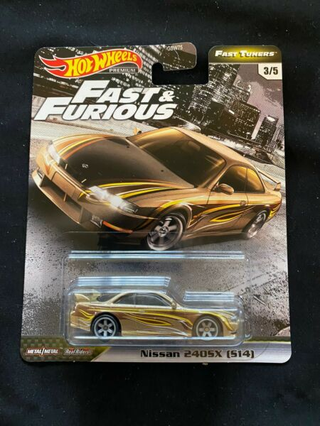 2020 Hot Wheels Fast And Furious Fast Tuners Nissan 240SX (S14) NEW NEAR MINT