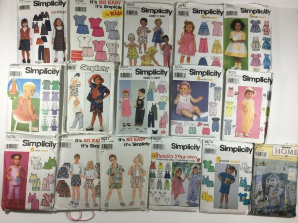Simplicity McCall's Butterick Sewing Patterns ( Select individually pattern )