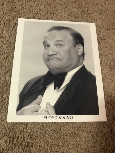 Uncle Floyd (1999) (Glossy Picture) 8x10 B&W Publicity Photo