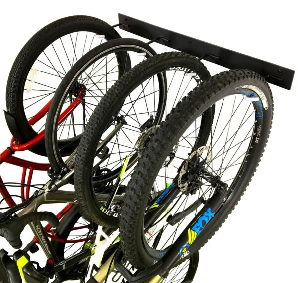 StoreYourBoard BLAT Bike Wall Storage Rack Holds 4 Bicycles Heavy Duty Solid S $49.99