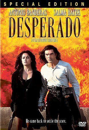 Desperado DVD MOVIE Special Edition Antonio Banderas Salma Hayek 1995
