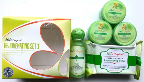 Rejuvenating Set #1 By Skin Magical Beauty Products Trading