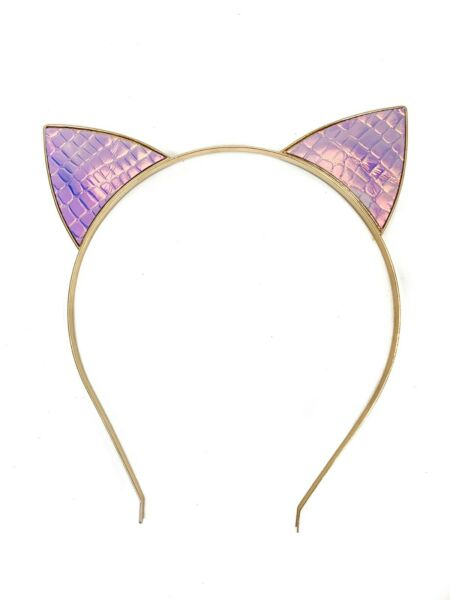 Snake Holographic Rainbow Cat Headband Hairband Costume Cosplay Party Sexy Ears