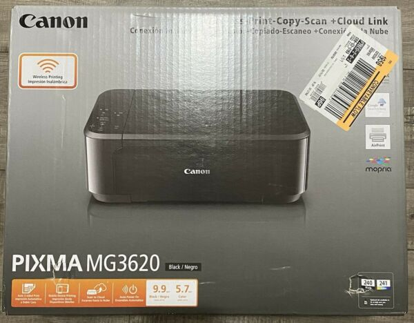 Canon PIXMA MG3620 Home Office Wireless All In One Inkjet Printer INK INCLUDED $69.98