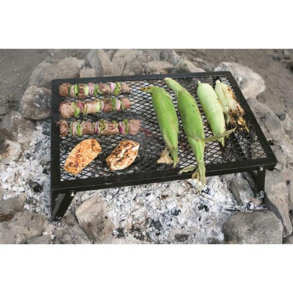 Fire Pit Fall Outdoor Grilling Food Grate Steak Yard Garden Park Party Camp Cook