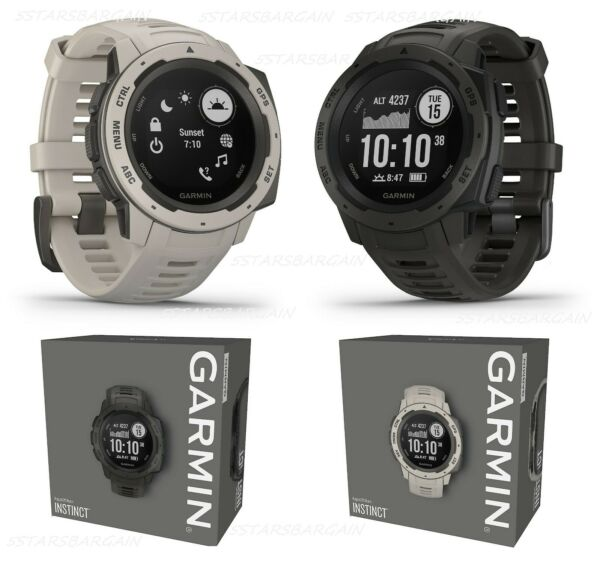 Garmin Instinct Rugged Outdoor Fitness GPS Watch Bluetooth Fiber-reinforced 44mm