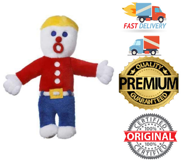 Dogs And Puppies Toys - Multipet Plush Mr Bill Talking Squeak Toy 10