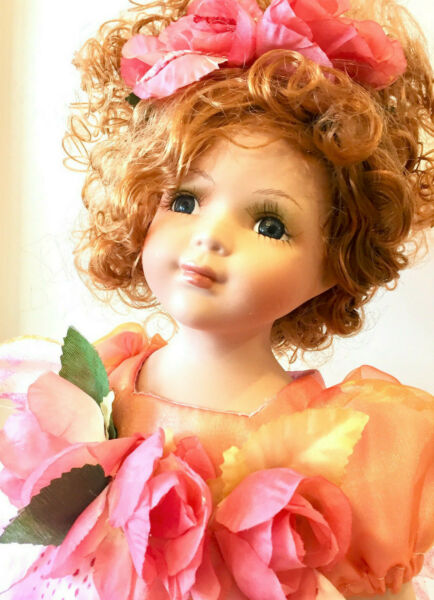 Fairy Porcelain Doll Limited Edition Collectible Porcelain Dolls Gifts New