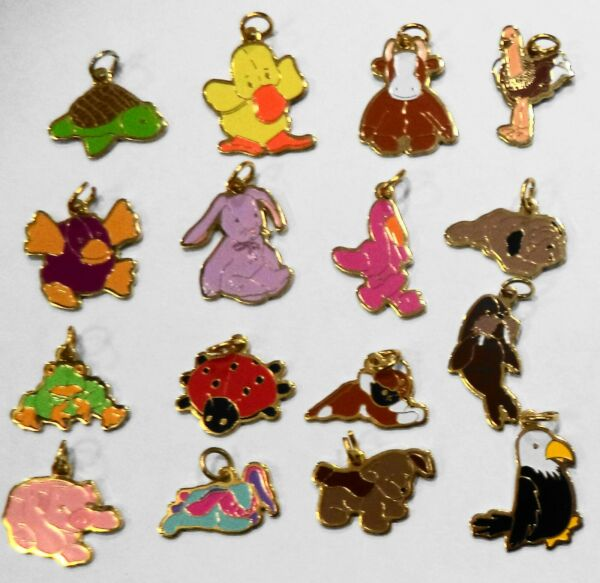 BEANIE BABY CHARMS 16 different to choose from sealed still sealed collect gift $5.00