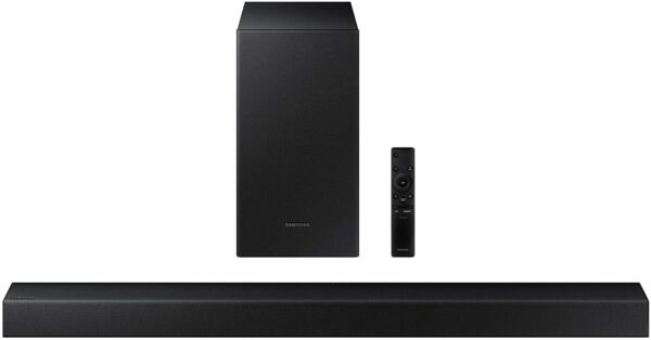 Samsung HW-T450 200W 2.1-Channel Bluetooth Soundbar w/ Wireless Subwoofer