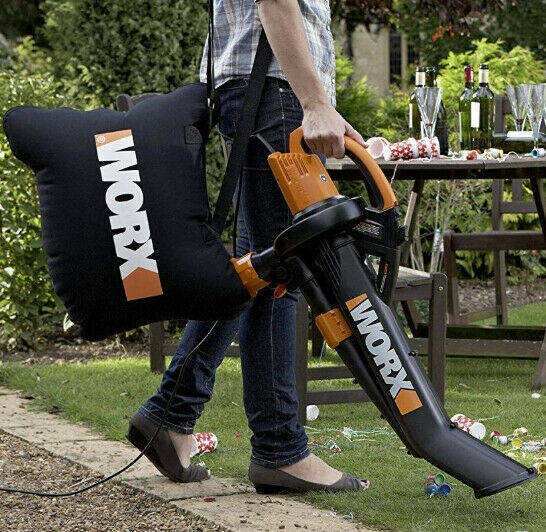 Leaf Blower Mulcher Vacuum Yard Tool Outdoor Leaves Collection Corded Electric