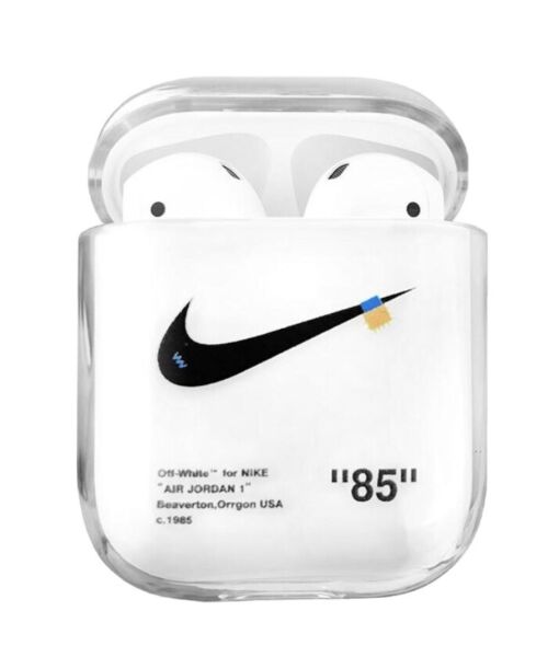 Off White Nike Airpods Case - Shock Absorbing (Delayed Shipping,Ships On The 11)