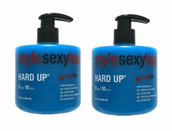 Style Sexy Hair Hard Up Holding Gel 16.9 Oz (Pack of 2) Fast Shipping WTracking