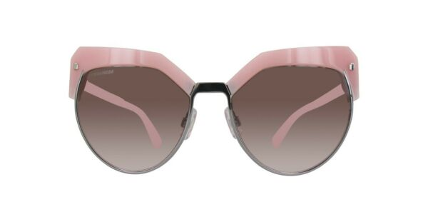 DSQUARED2 Womens Cateye Sunglasses DQ0254 73F 57 Pink Barbie New with Tags $99.00
