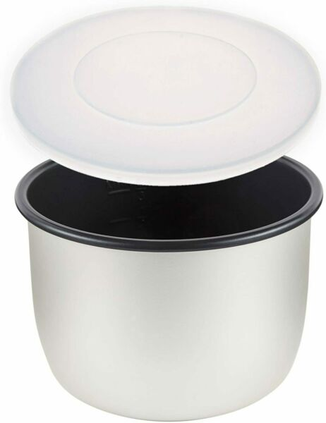 Silicone Lid Cover Pressure Cooker Crock Pot Slow Multi Cooker BPA Free 6 Qt