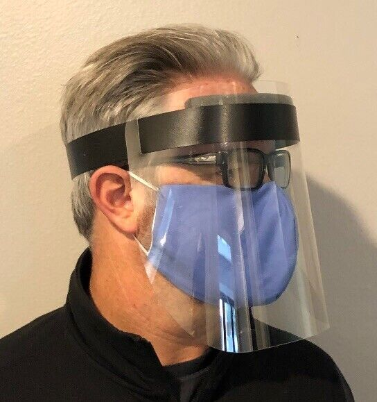 Lot of 10000 Unit Face Shield Protection Ships Made In USA Wholesale Adjustable