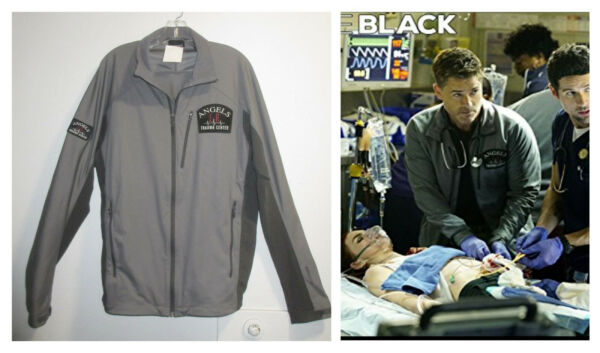 Screen Used CODE BLACK HERO Dr ETHAN WILLIS JACKET Production Prop ROB LOWE