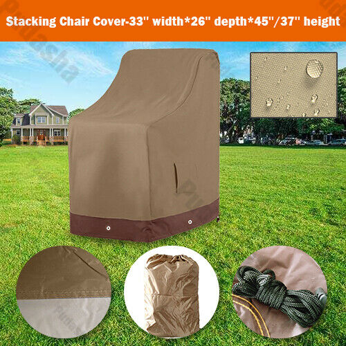 Heavy Duty Durable Rectangle Table Cover Outdoor Furniture Dust Resistant BS15P