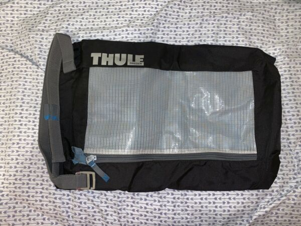 THULE SWEDEN Black Mesh Trunk Organizer Large Pocket Bag with Hanger $24.00