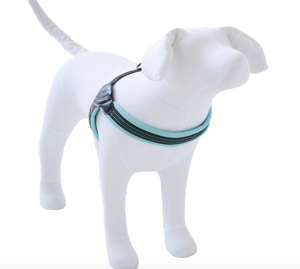 SPORN Easy Fit Dog Pet Harness Padded All Sizes Mesh Material Adjustable Girth $10.25