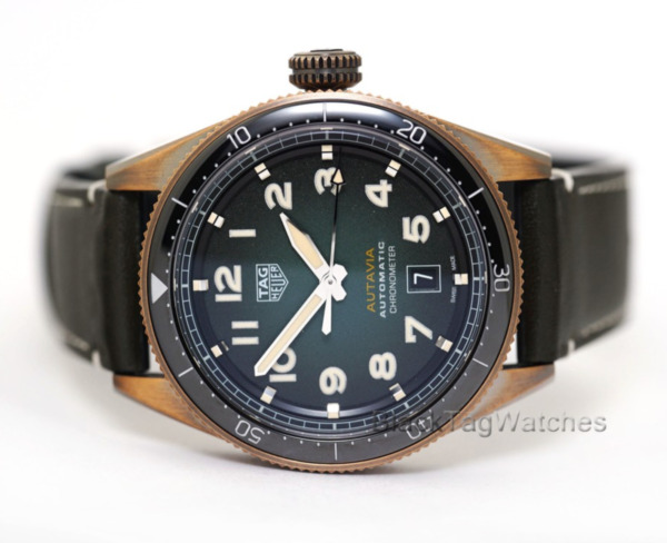 TAG Heuer Autavia Calibre 5 Automatic Chronometer WBE5190.FC8268 Bronze Watch