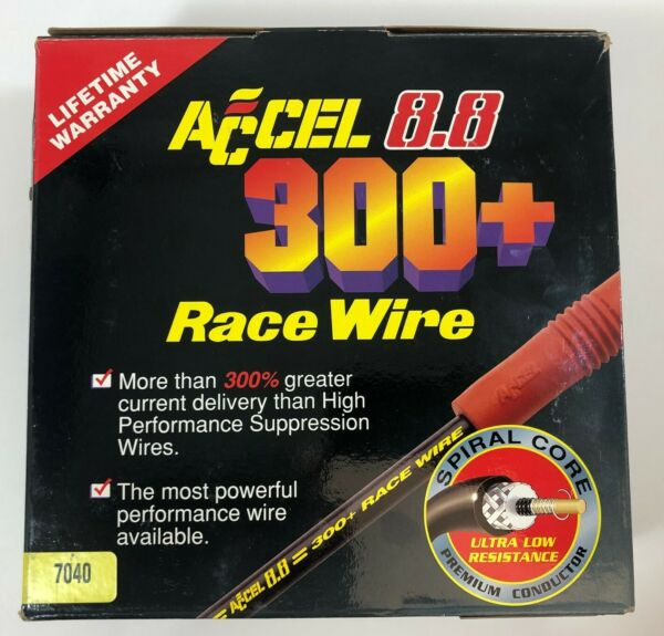 Race Spark Plug Wires Ignition Cables 8.8mm High Performance Racing Wires Cables
