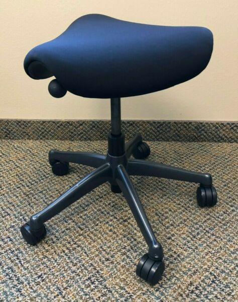 Humanscale Freedom Saddle Stool  Ergonomic Office Chair (Exc. Cond.)