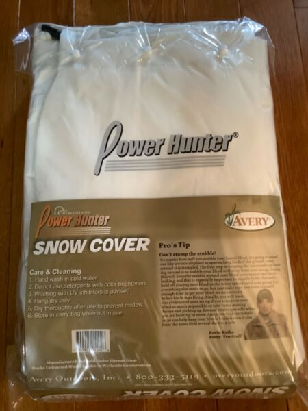 New Ducks Unlimited Power Hunter Avery snow cover snow goose geese 700905014026